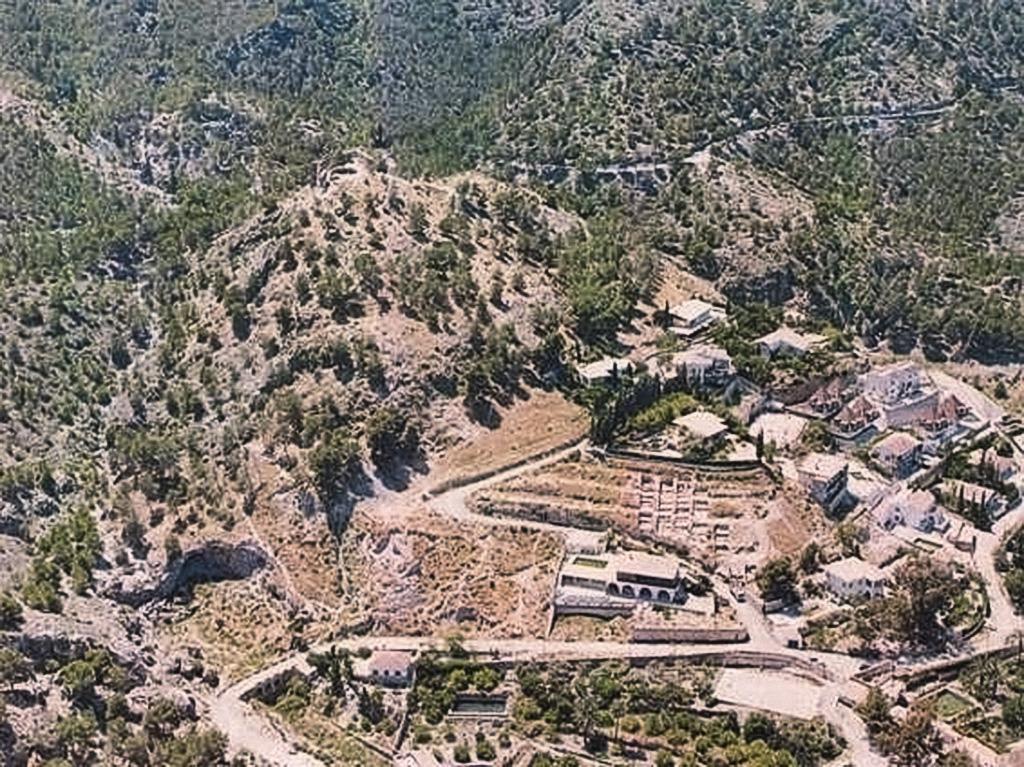El poblado de Santa Catalina del Monte