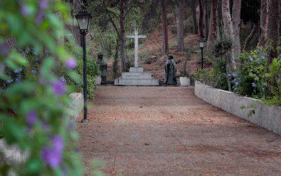 Monumento Ángel Romero en Villa Pilar