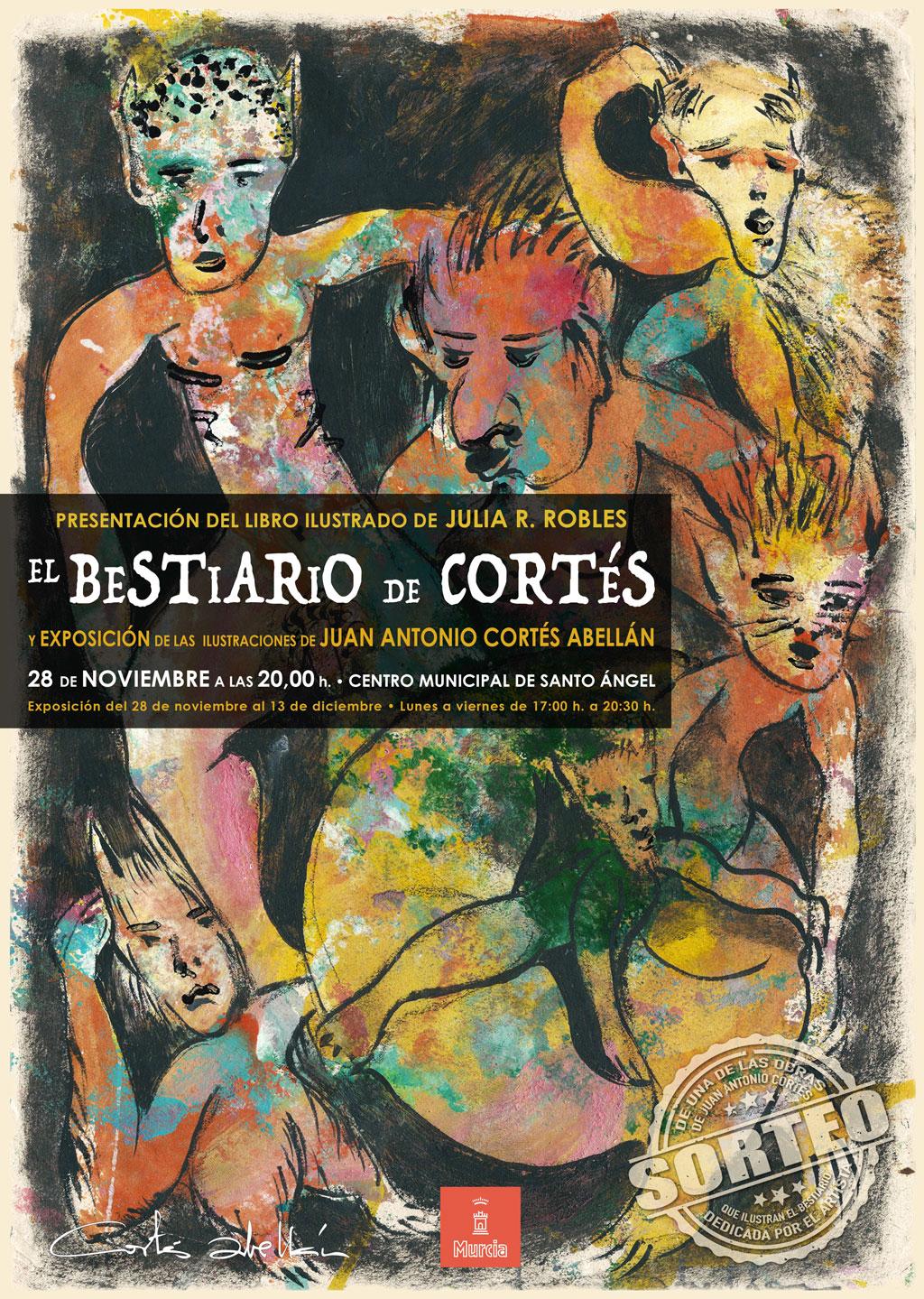 Cartel el Bestuario de Cortés