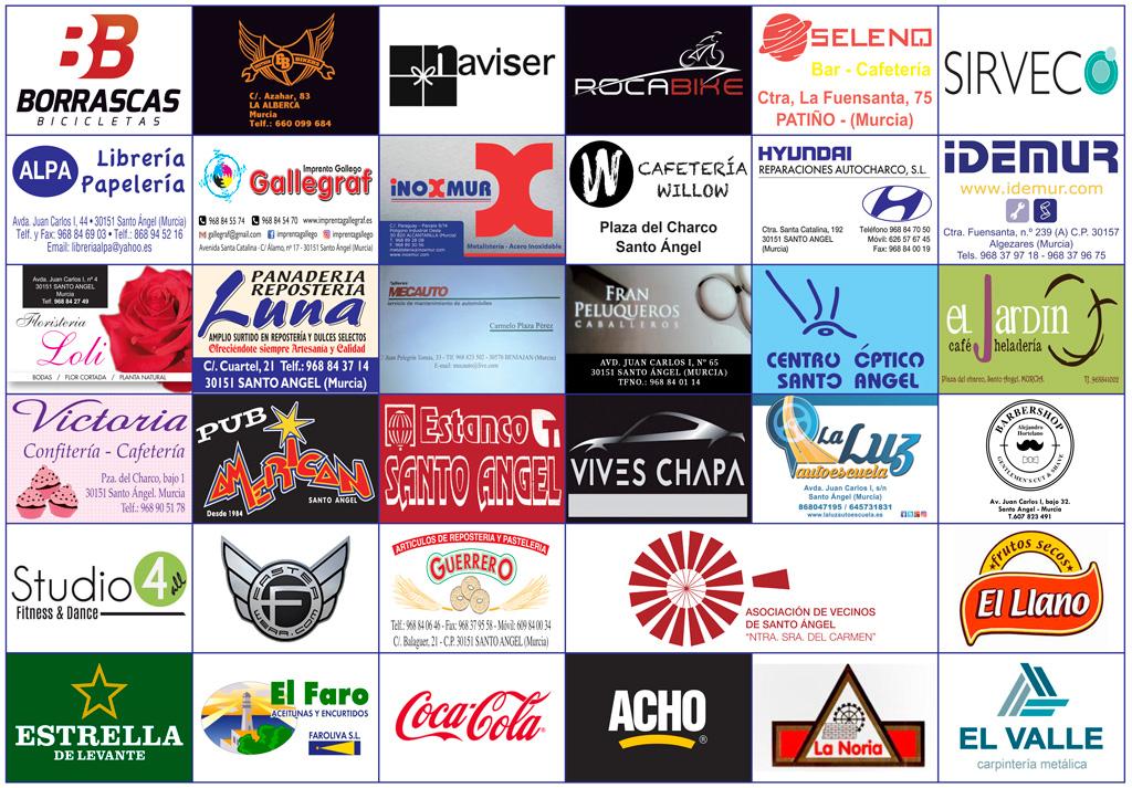 patrocinadores 2019 carrera MTB Santo Ángel