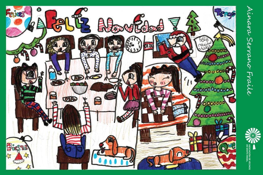 Autor postal navidad Ainara