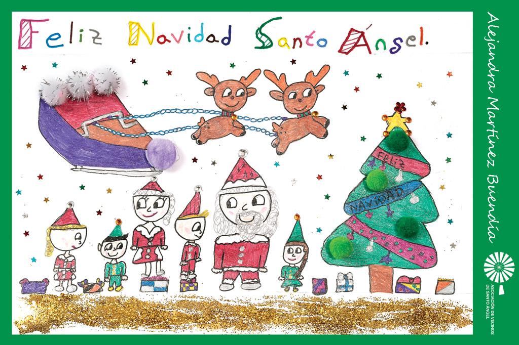 Autor postal navidad Alejandra