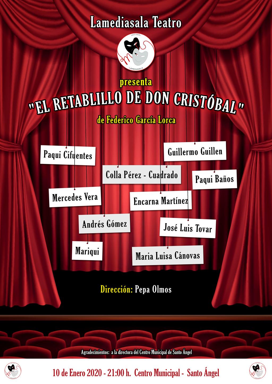 "Cartel ""Retablillo Don Cristobal"""