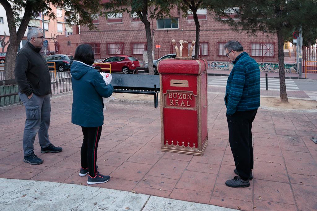 buzón Real en la Plaza del Charco