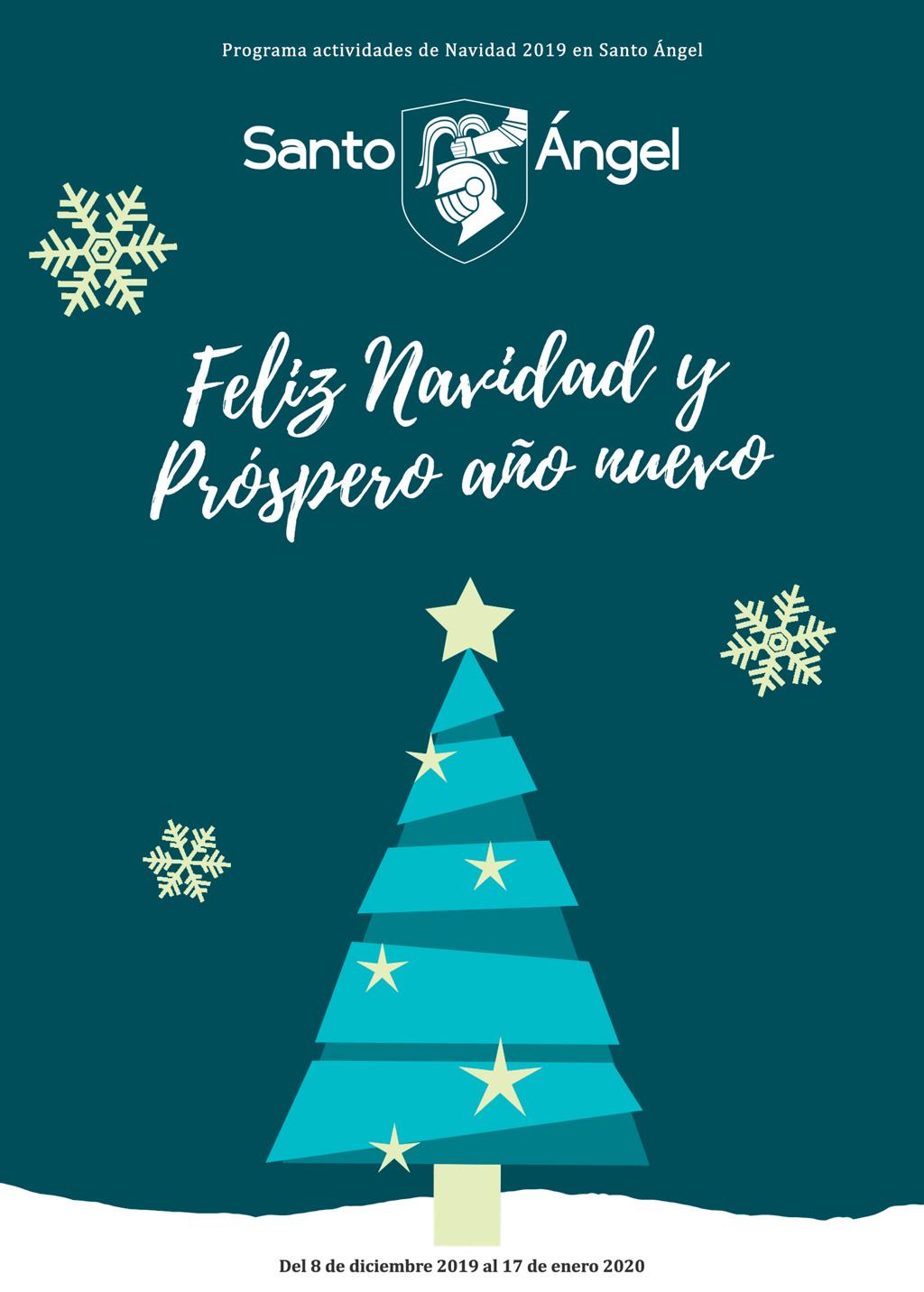 Programa actividades navidad 2019