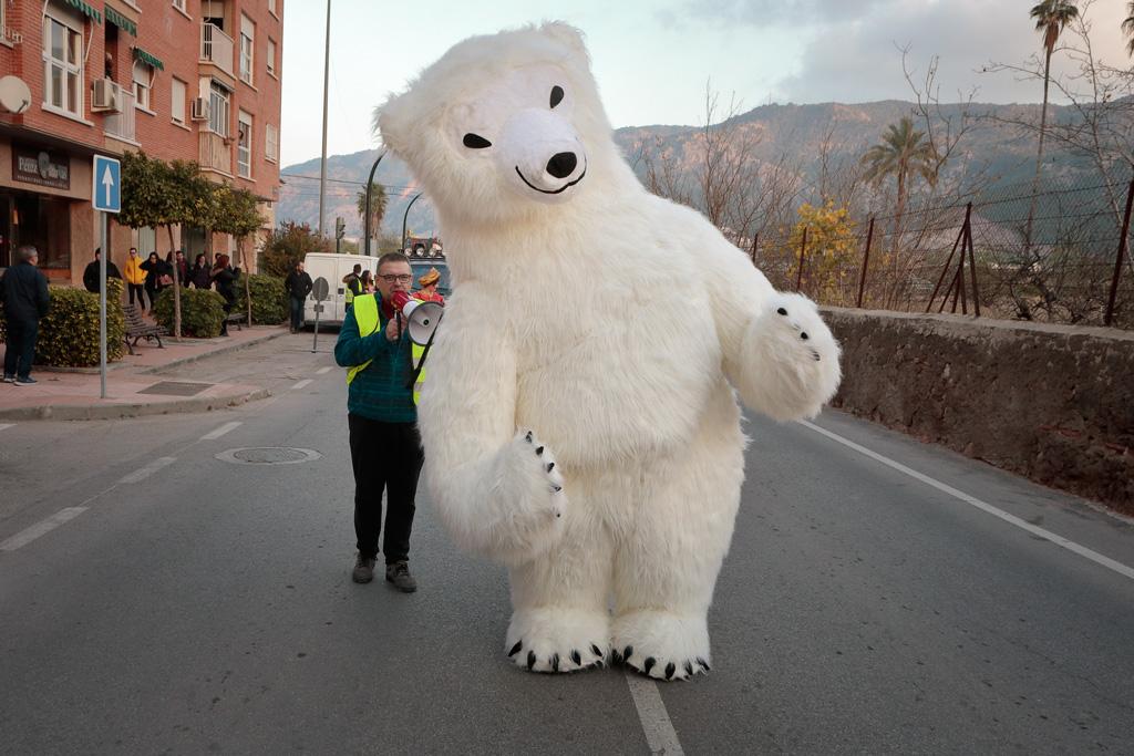 Oso Polar Gigante en la Cabalgata 2020