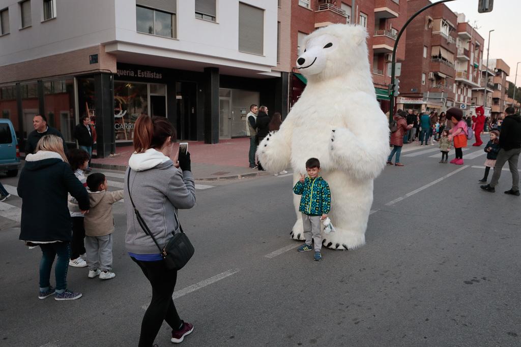 Oso polar en la Cabalgata