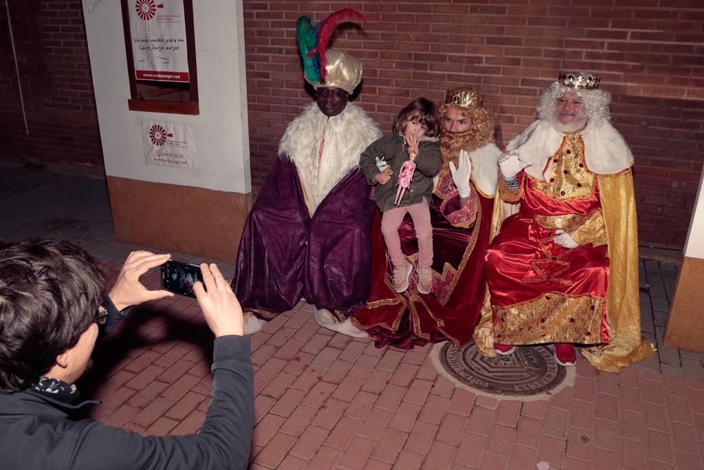 Photocall con los Reyes Magos