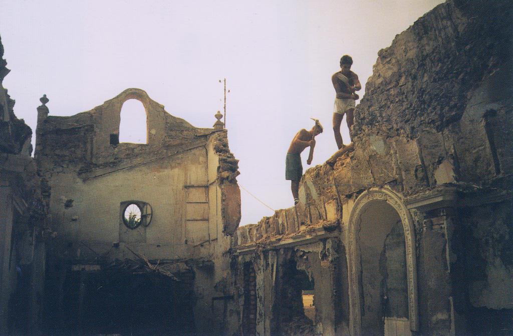 Reconstruccion de la ermita