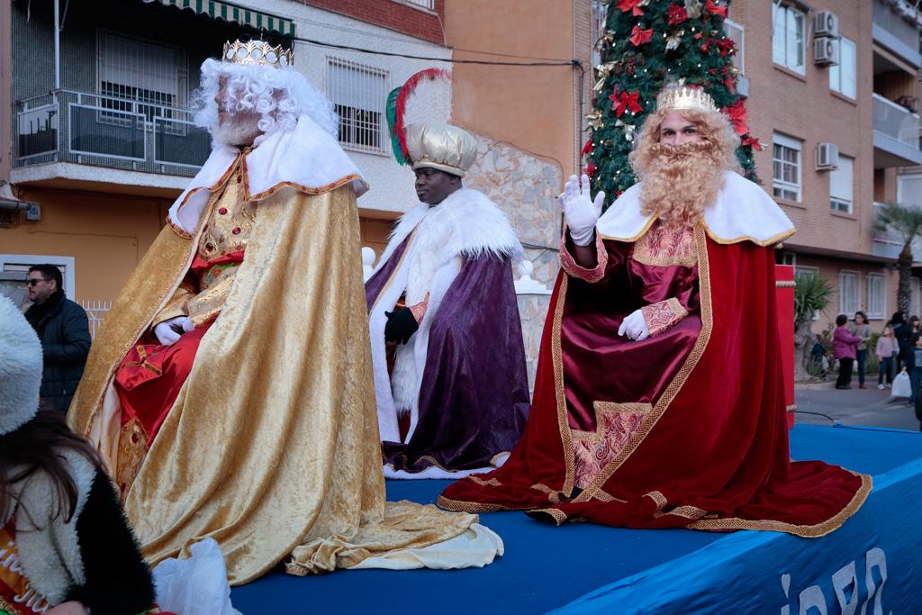 Carroza con los Reyes Magos