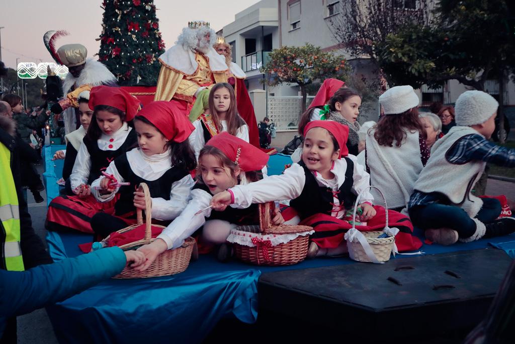 La Cabalgata de los Reyes Magos el 4 de enero