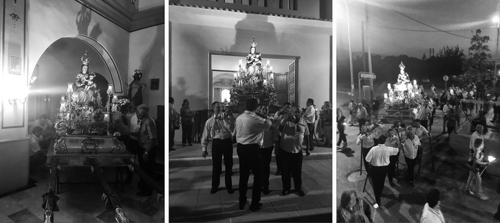 Procesión de la Virgen de Loreto