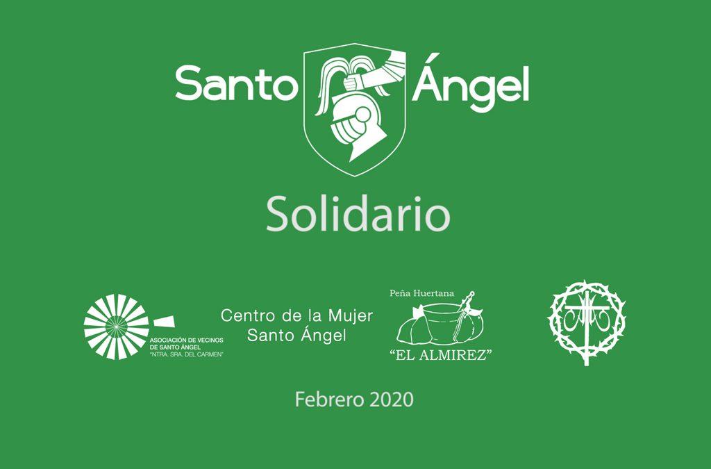 Santo Ángel solidario