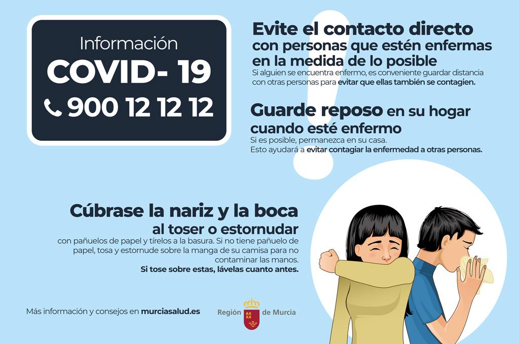 CARM información prevención COVID-19
