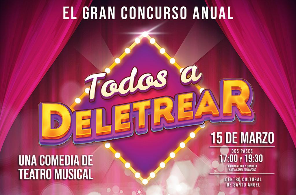 """La Coral Ditirambo presenta """"Todos a Deletrear"""""""