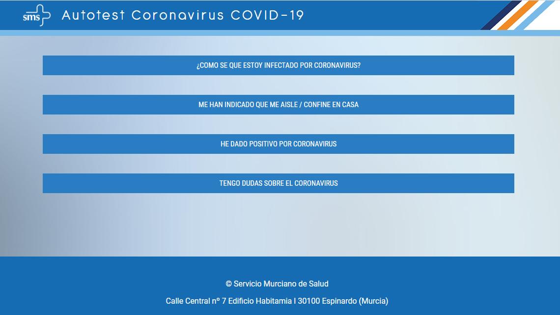 Autotest Coronavirus SMS