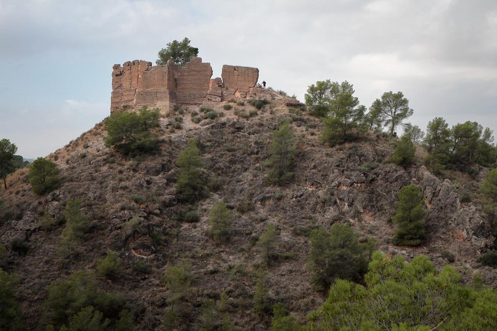 Castillo de Verdolay desde Santo Ángel