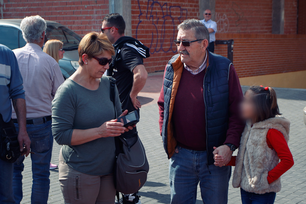 Anabel Martinez y Joaquín Ballester