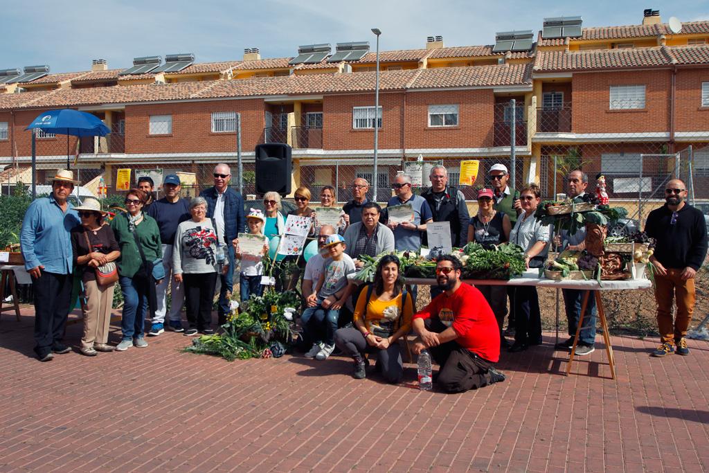 Fiesta de cosecha 2019 en los huertos ocio de Santo Ángel