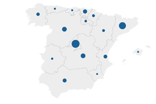 La situación del coronavirus en España