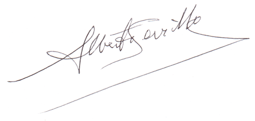 Firma de Alberto Sevilla