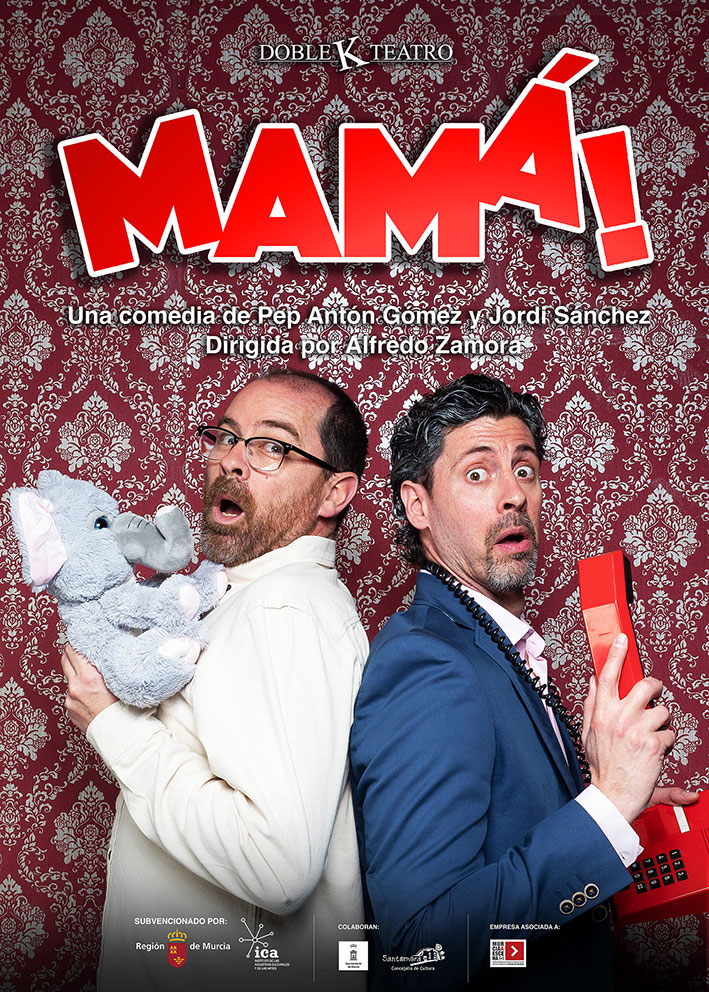 "Cartel ""MAMÁ"" Doble K Teatro"
