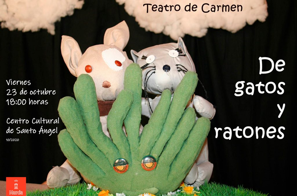 """El teatro de Carmen presenta """"De gatos y ratones"""""""