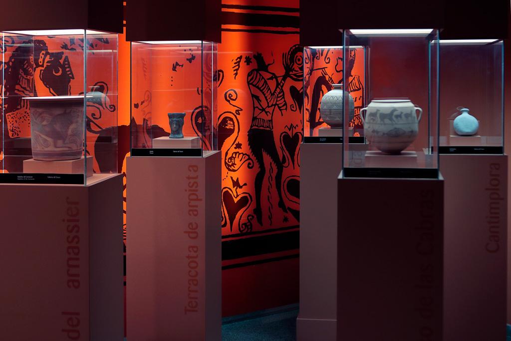 Sala de exposiciones: El Valle de los Íberos