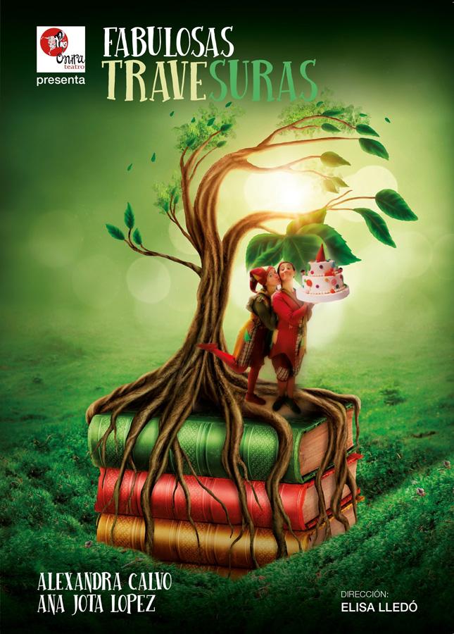 cartel Fabulosas Travesuras de Onira Teatro