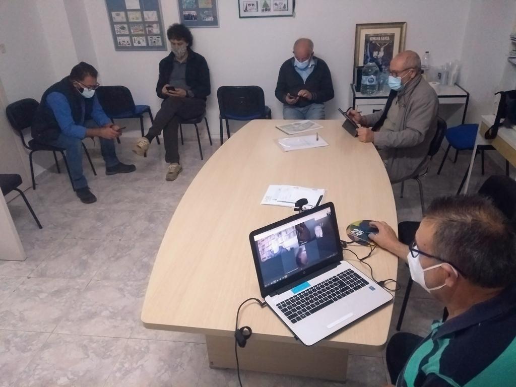 Plataforma Costera Sur reunion con miembros comité empresa Latbus