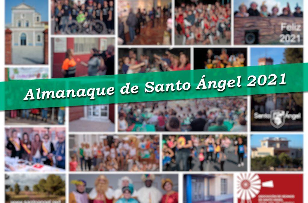 Promo Almanaque 2021 Santo Ángel