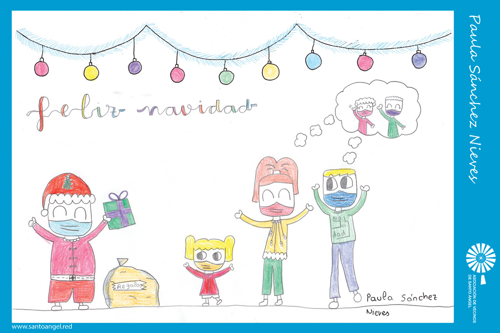 Dibujo de Paula Sánchez Nieves