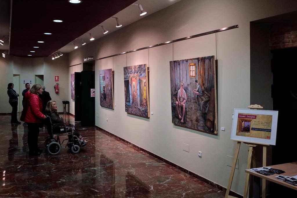 Exposicion de Pintura de Ignacio Garcia Moreno