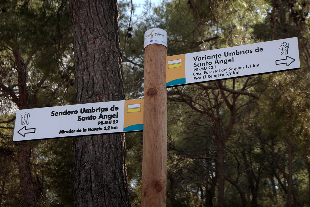 Rutas y Senderismo en Santo Ángel - Turismo en el medio natural
