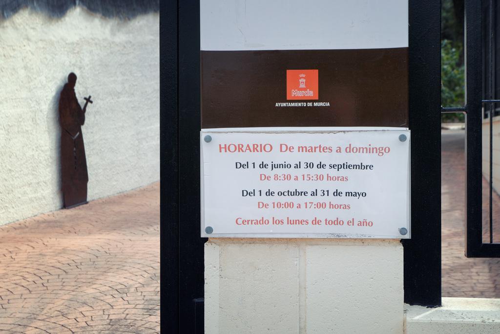 Horario Centro Visitante San Antonio el Pobre