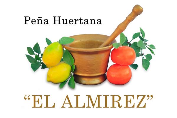 "logo Peña Huertana ""el Almirez"" Santo Ángel"