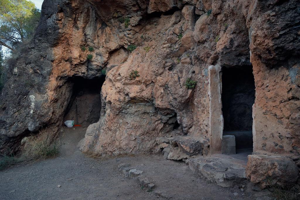 Cueva de la Hierdra en Santo Ángel