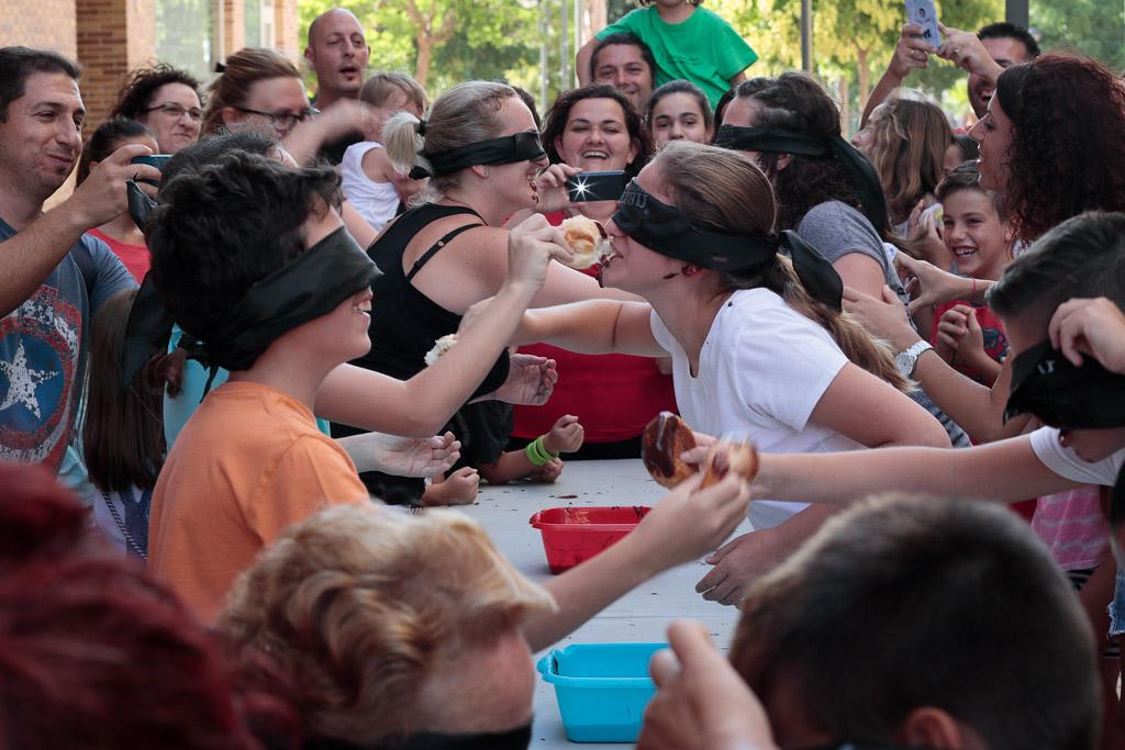 Fiestas populares en Santo Ángel