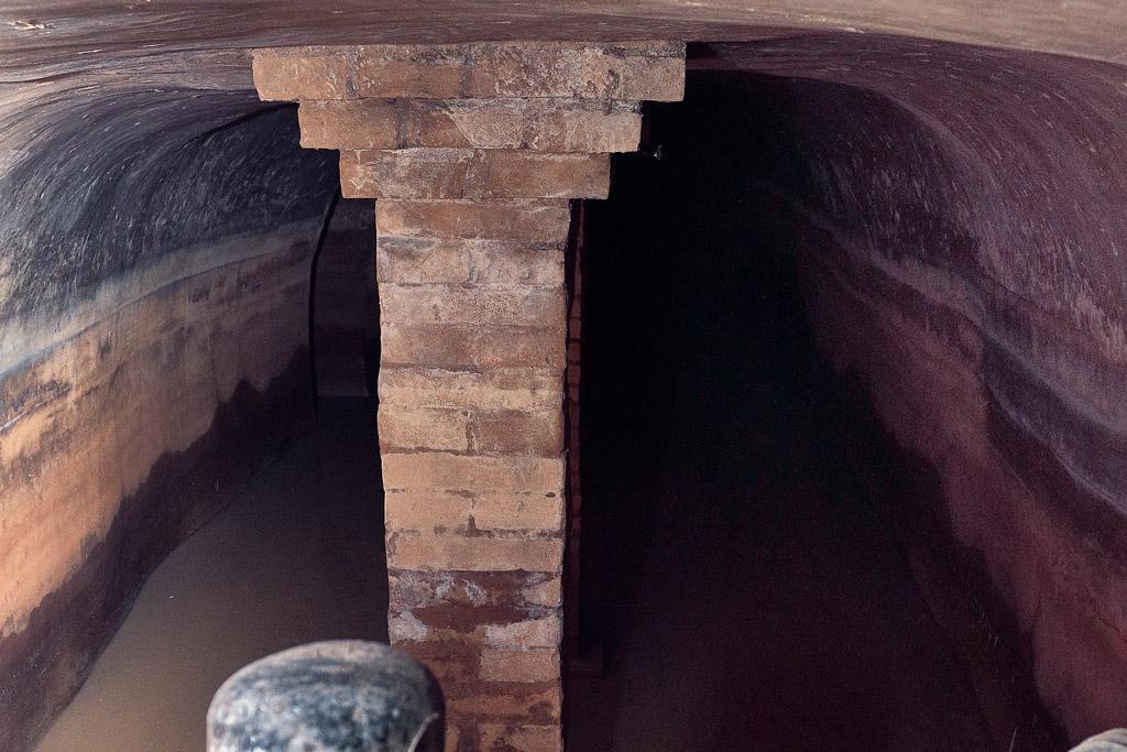 Depósitos de agua de entre 15 y 20 metros de longitud