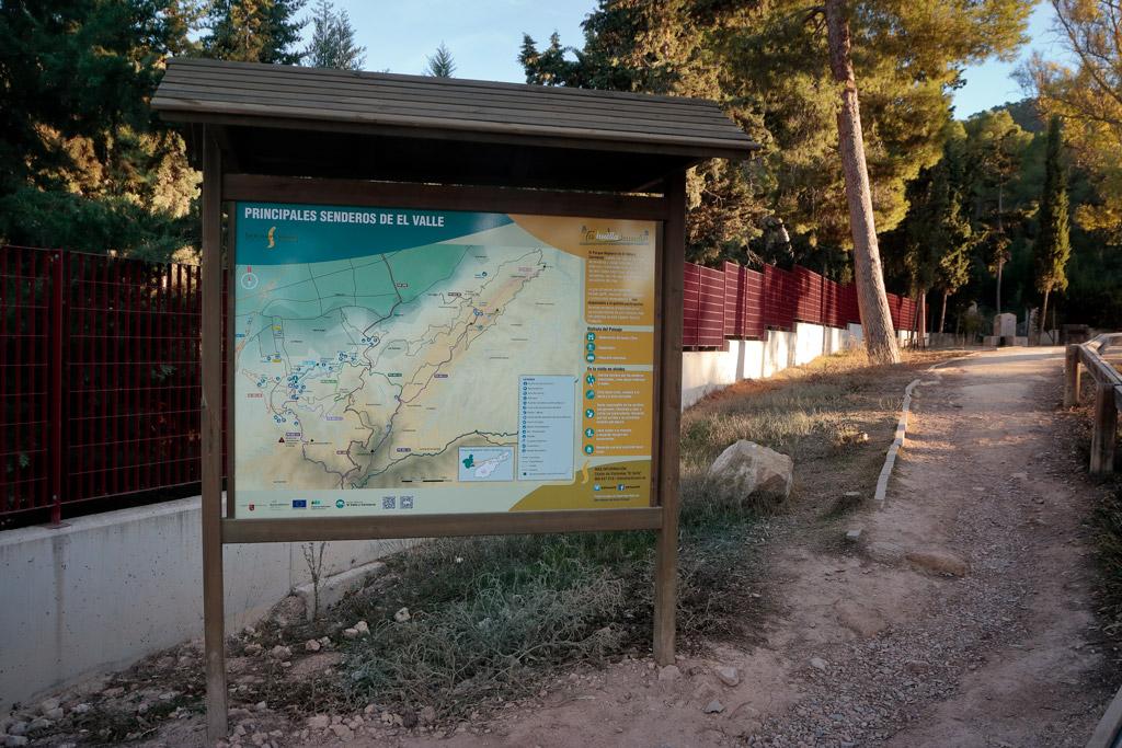 Panel con información