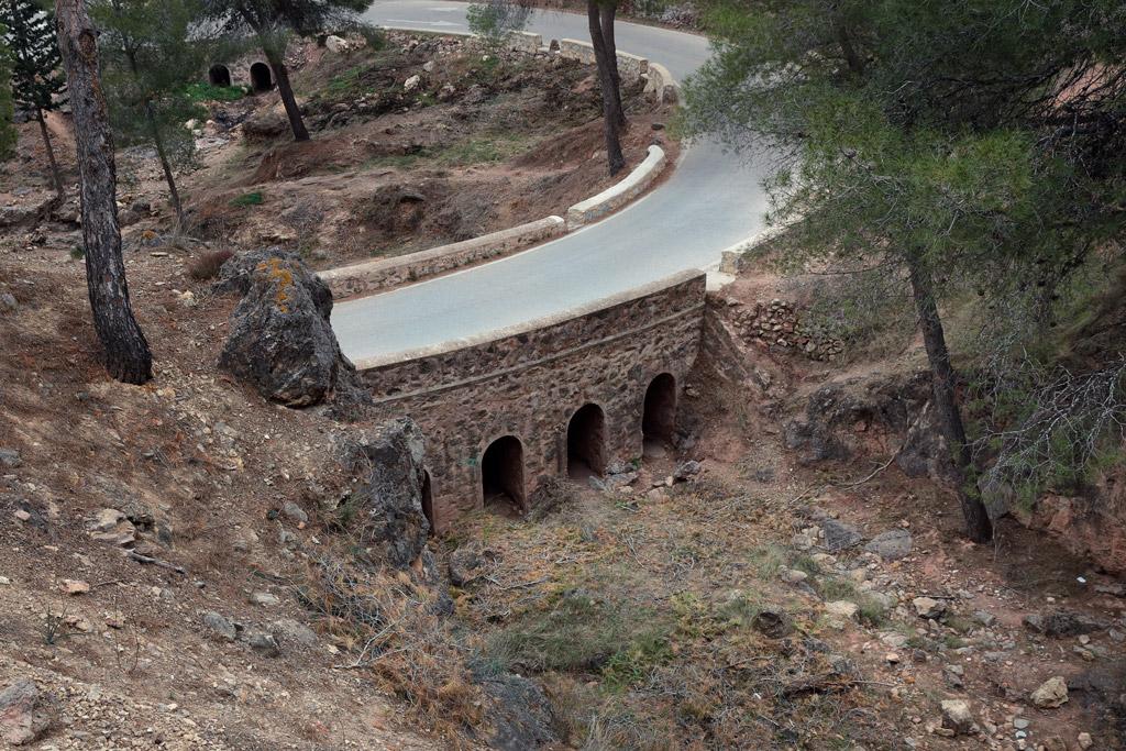 Puente cerca los Teatinos - Rambla del Sordo