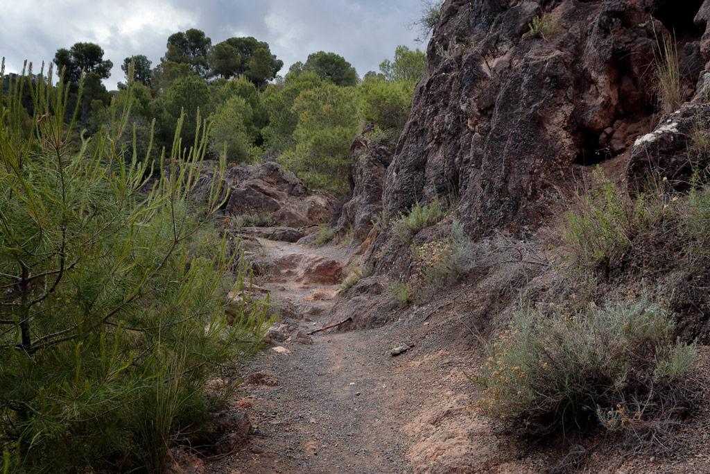 Subida de una ruta local - Umbrías de Santo Ángel