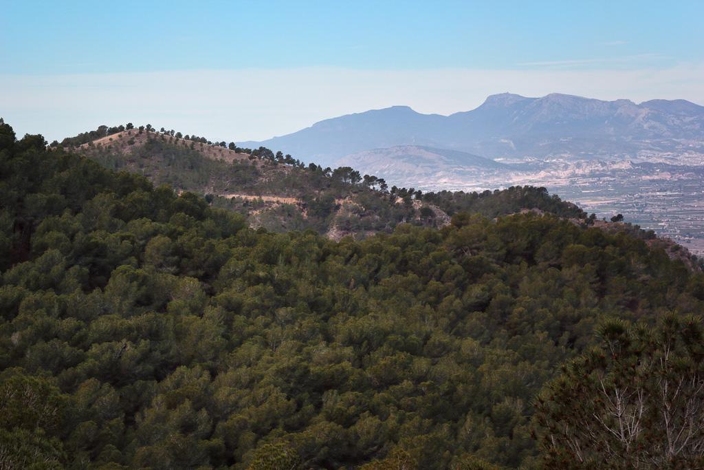 Vista a Sierra Espuña