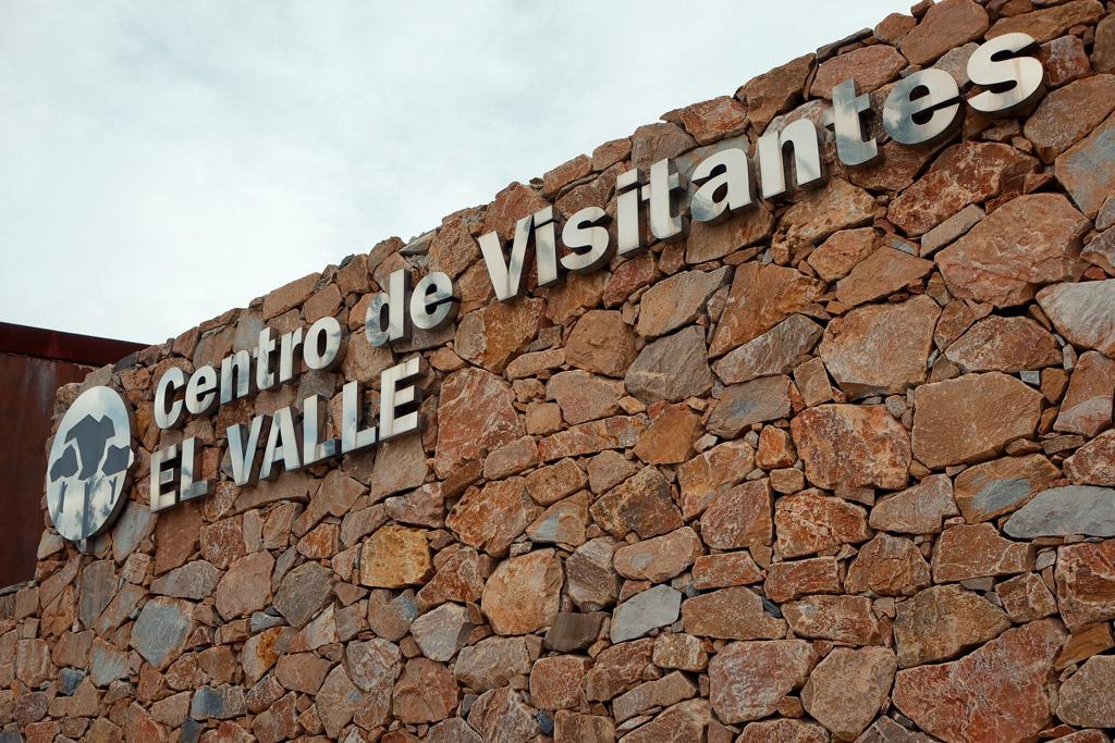 """El Centro de Visitante """"El Valle"""""""