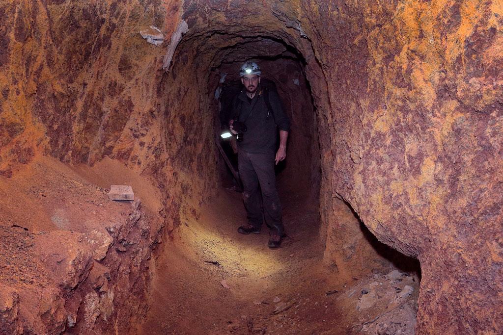 Entrada minero en el Sistema hydraulico