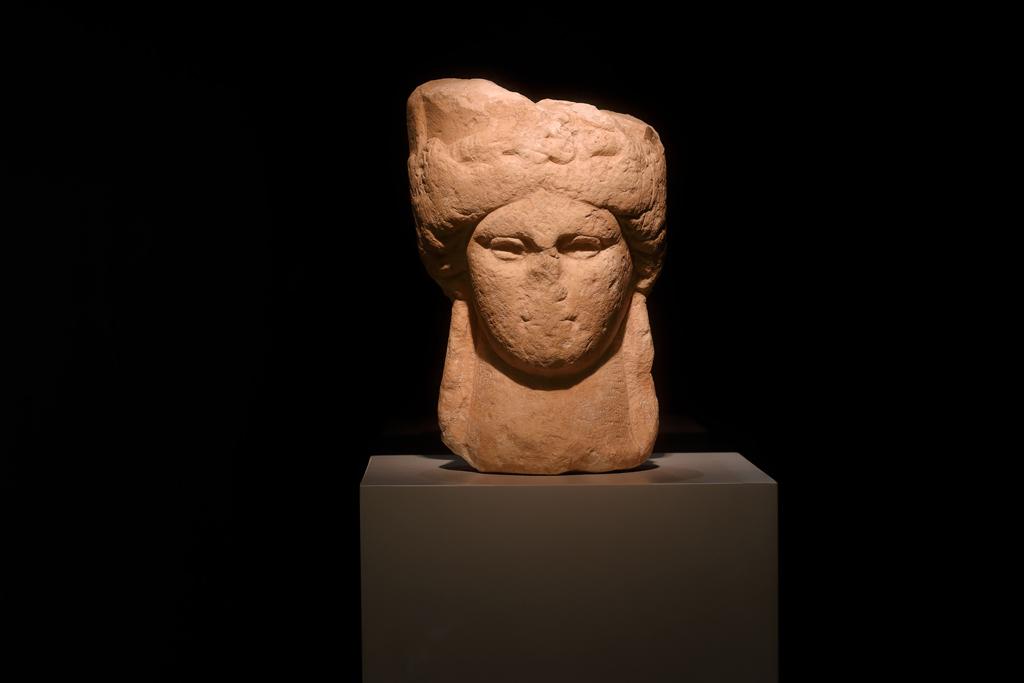 La cabeza de la diosa Demeter | Museo Arqueológico de Murcia