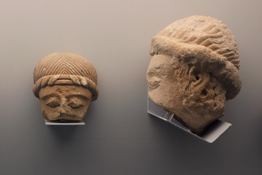 Cabezas humanas   Museo Arqueológico de Murcia