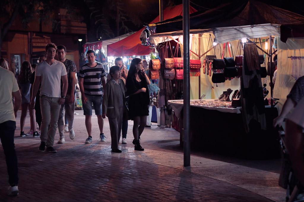 The famous Mercadillo (market) of El Charco