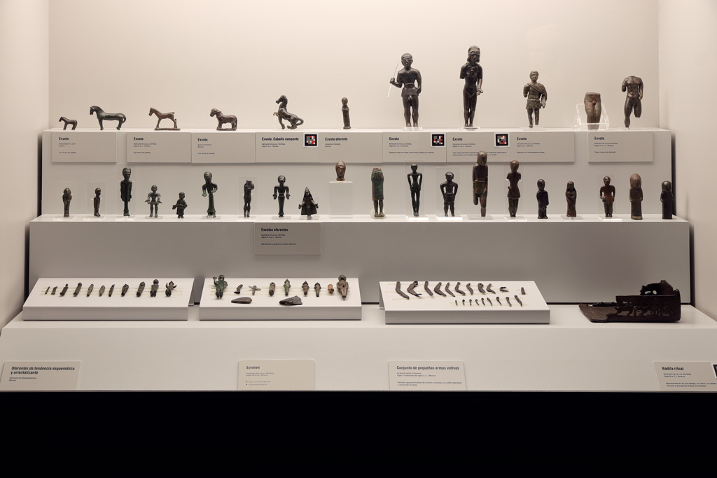 Colección de exvotos de bronce | Museo Arqueológico de Murcia