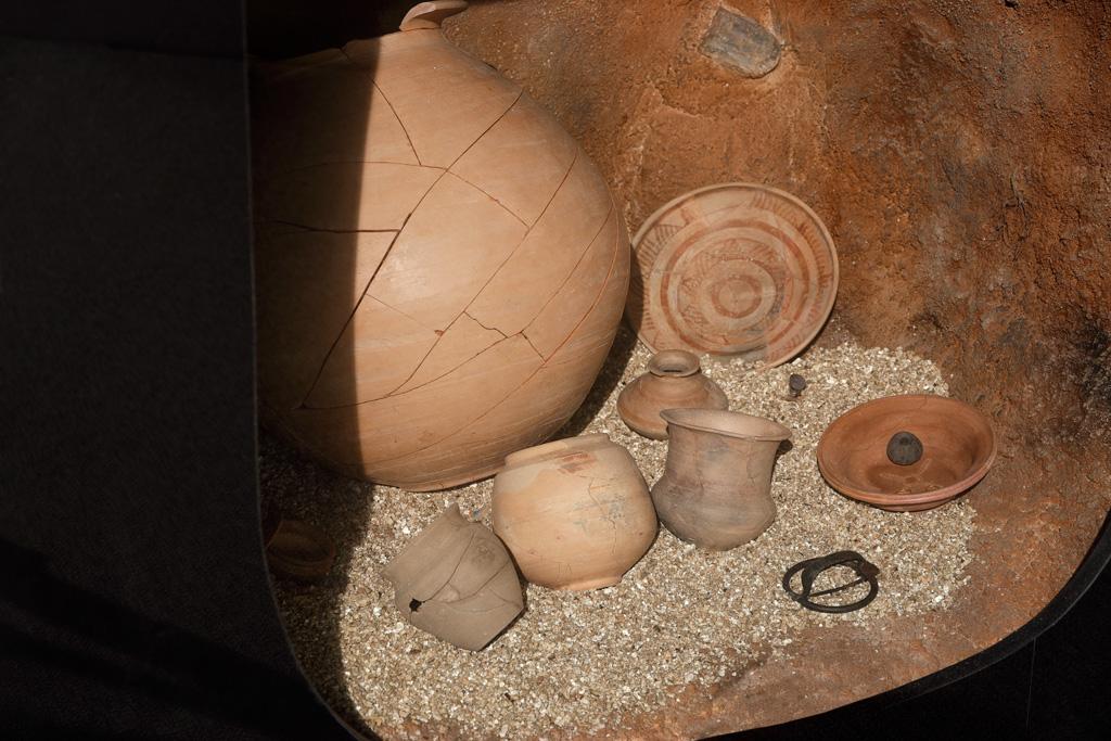 Ejemplo de tumba   Museo Arqueológico de Murcia